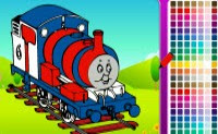 Coloring Thomas the Train | Toptenjuegos.blogspot.com
