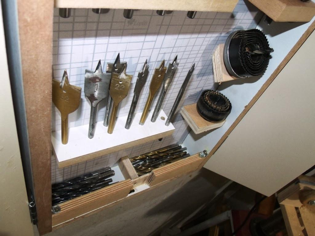 MARCENARIA DECORATIVA: Organização de ferramentas #5F4D37 1024x768