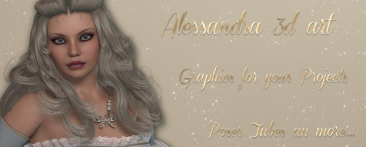 Alessandra3dart