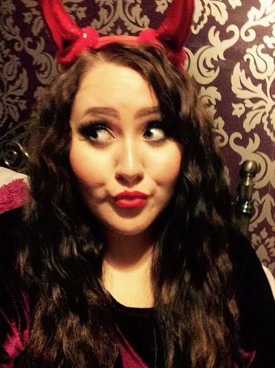 Halloween costume, devil, abieelucas