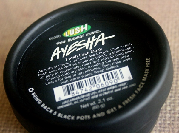 LUSH Ayesha Fresh Face Mask