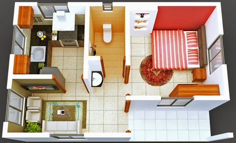 Desain ruangan minimalis 2