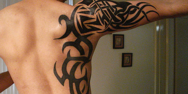 Tattoo Tribal Shoulder For men