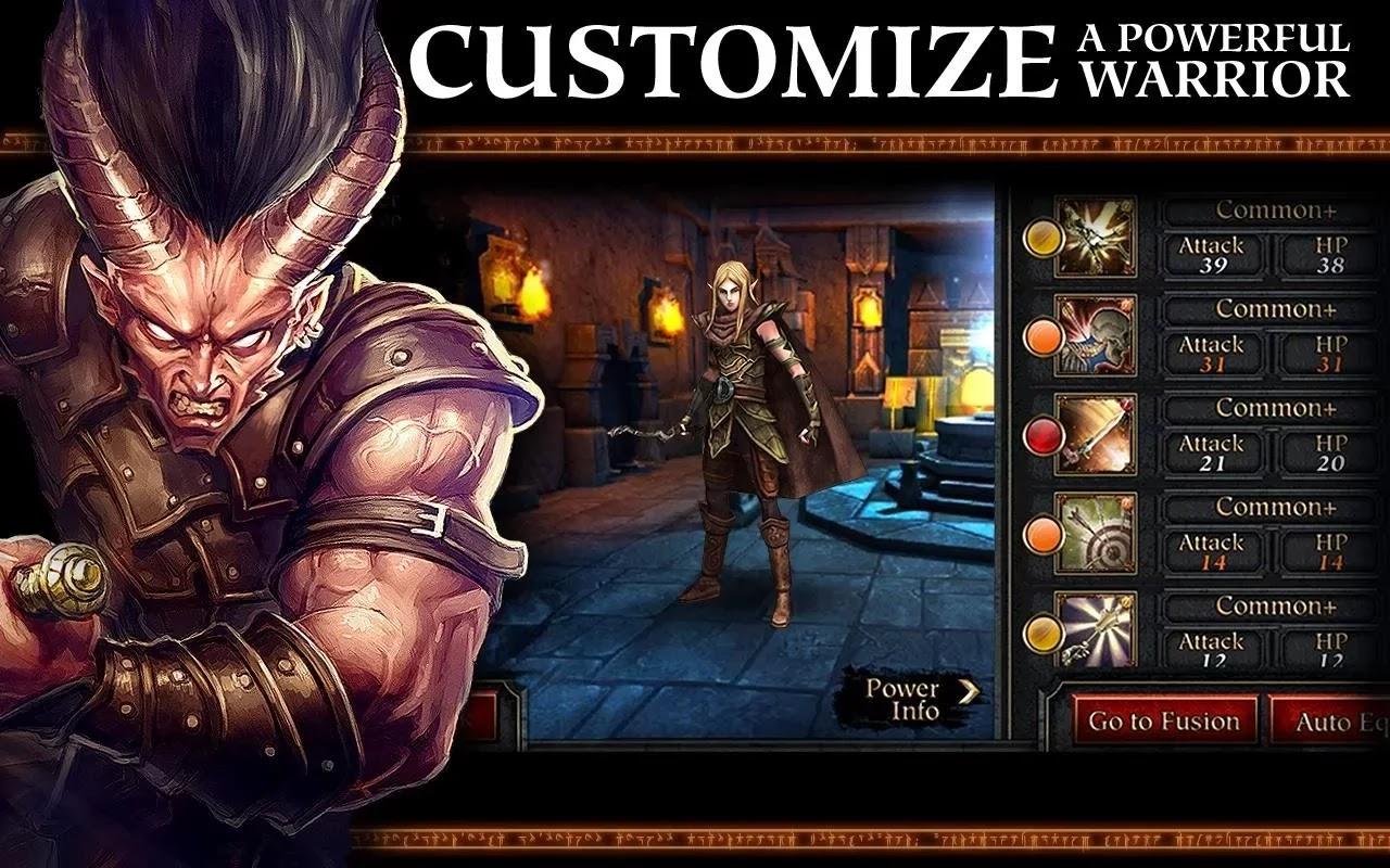 D & D Arena of War v1.0.4 MOD APK
