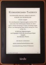 Order Kilimandscharo-Tagebuch