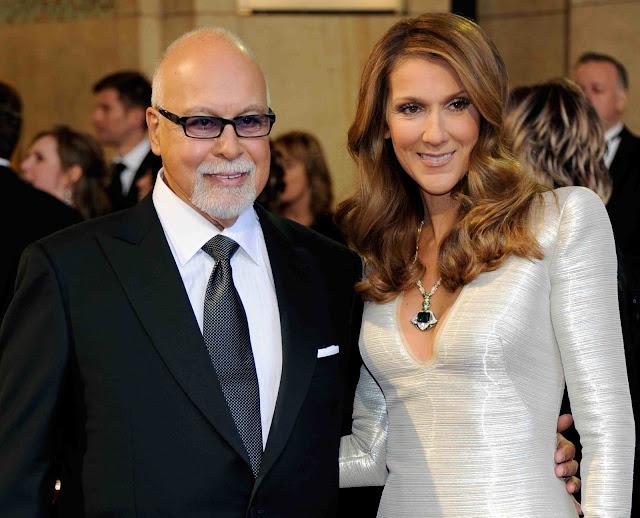 Falleció el esposo de Céline Dion