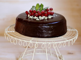 Pastís clàssic de xocolata