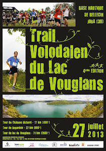 Trail Volodalen du Lac de Vouglans