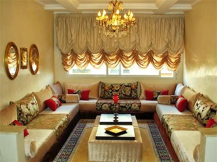 emejing salon marocain moderne oran pictures odieardhia info - Salon Marocain Sahraoui