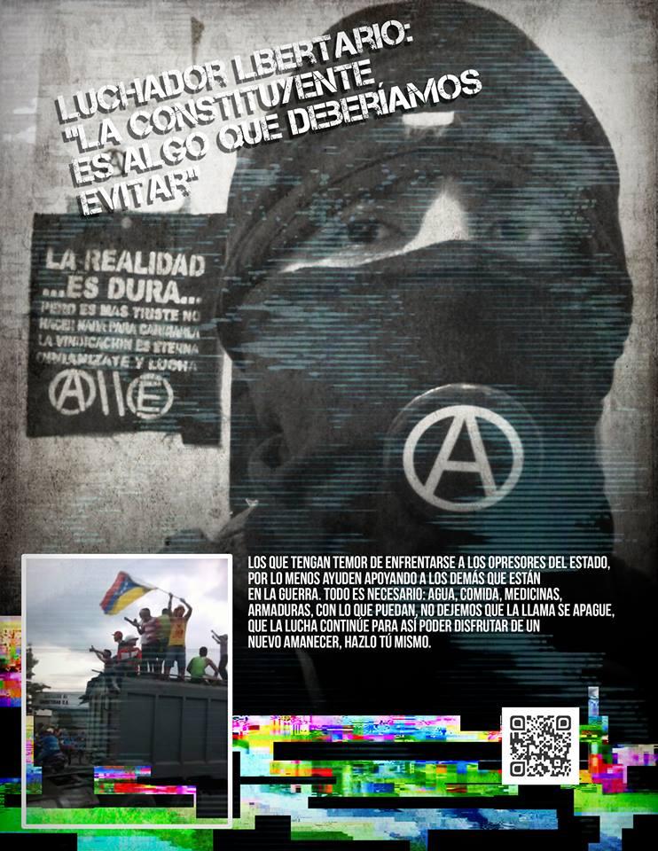 Anarquistas en la Rebelión Popular de Venezuela