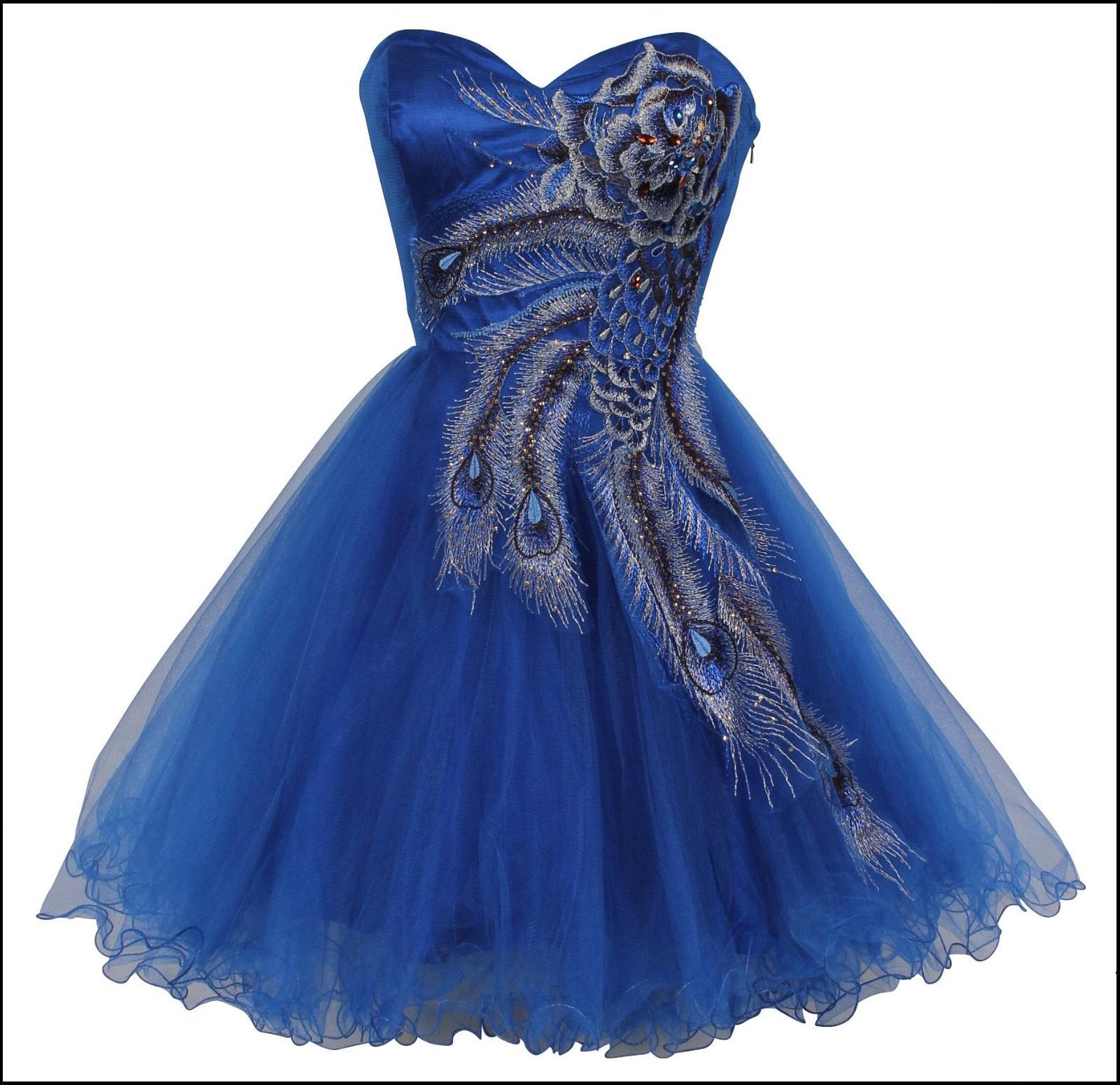 AsEstilo Store THE PEACOCK DRESS IN SHORT LONG DESIGNS