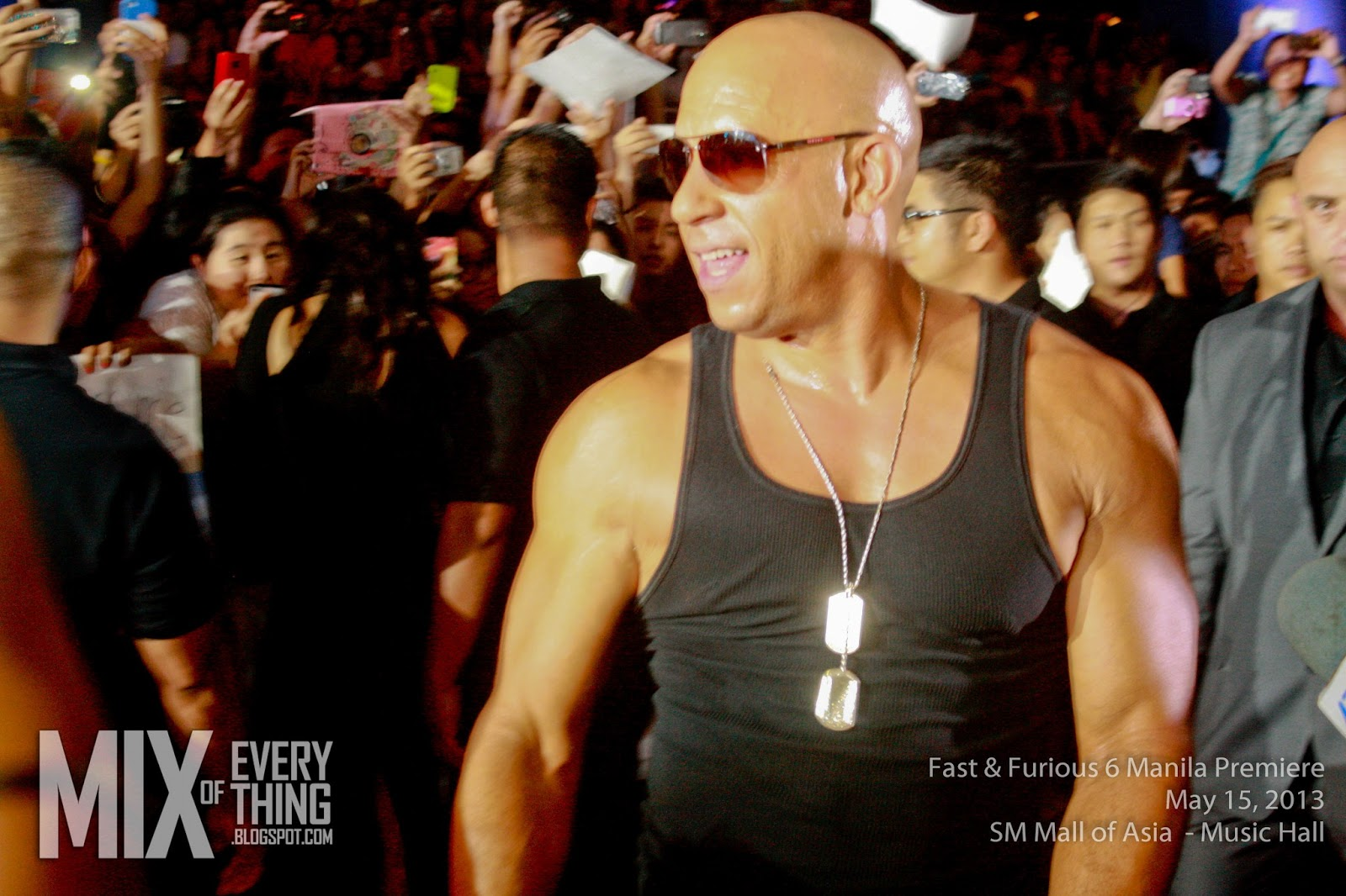Vin diesel even mentioned that by far this is the best premiere that they have been to that the philippine premiere is amazing so yey philippines