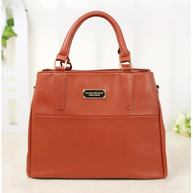 AA WITH JESSICA MINKOFF LOGO (BROWN)