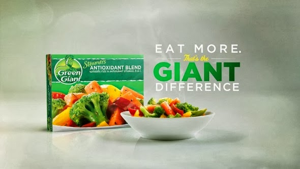 green giant giant difference campaign