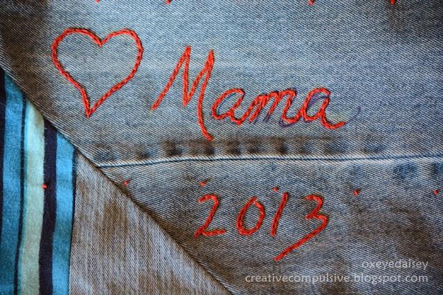 blue jeans quilt