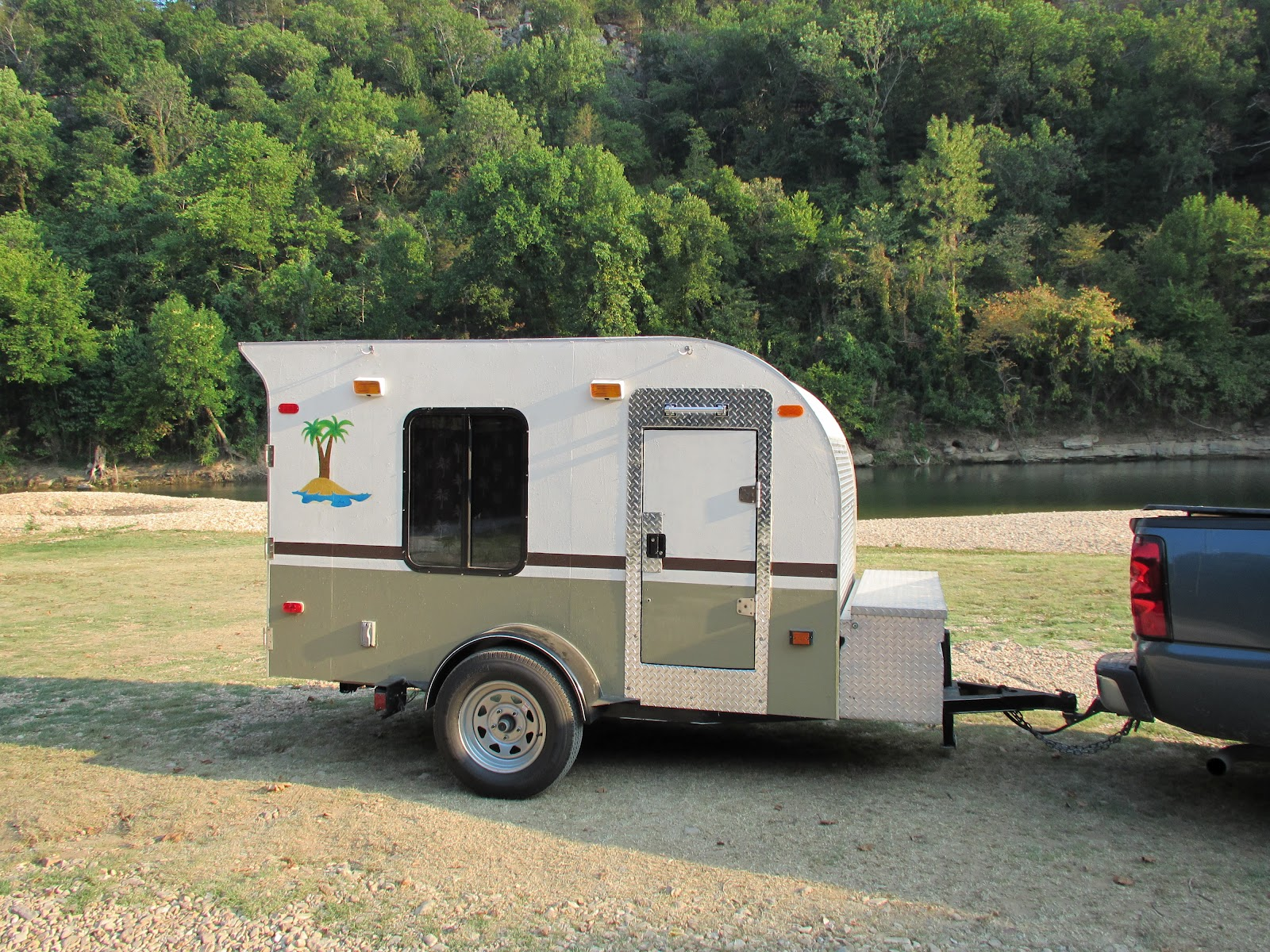 Tiny Camping Trailers weis craft little joe mini camper trailer Teardrops N Tiny Travel Trailers