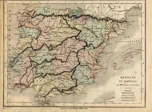 España y Portugal 1859 Claude Joseph Drioux