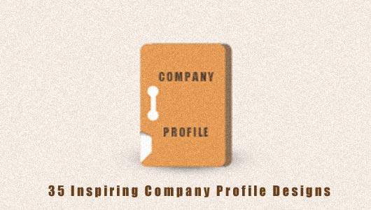 Company Profile Design inspiration