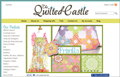 www.TheQuiltedCastle.com : quilted castle - Adamdwight.com