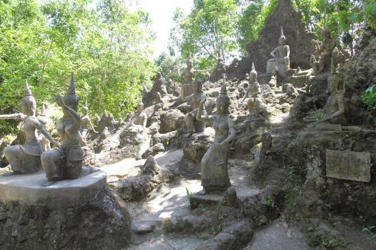 حديقة بوذا السرية في كوساموي