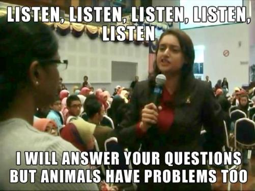 video Sharifah Zohra Jabeen dan miss bavani Listen