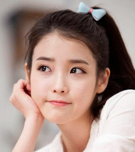 IU's instagram account