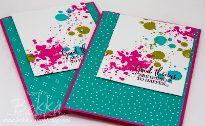 Good Things Are Going To Happen Gorgeous Grunge Card - check this blog for lots of great ideas