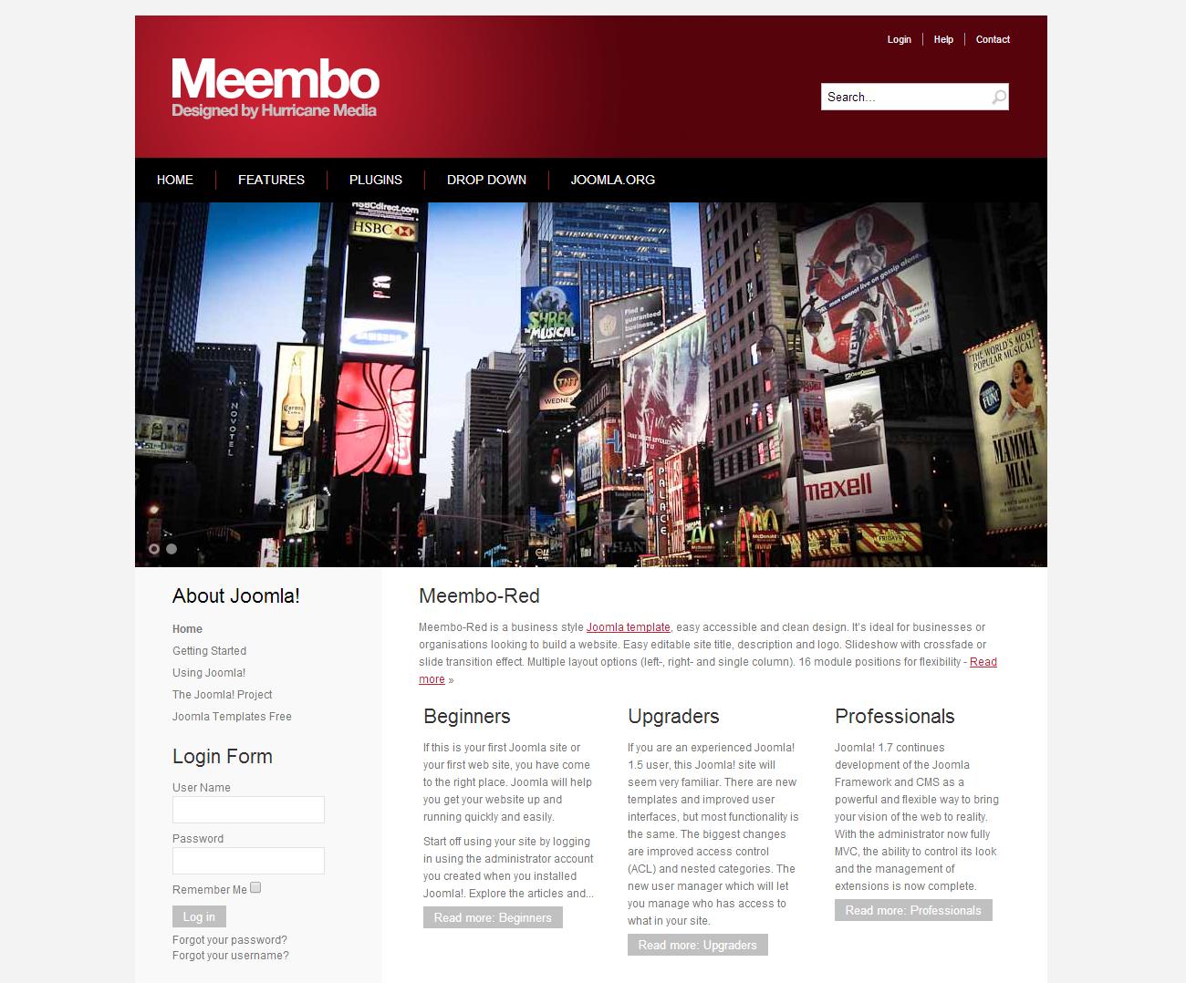 Meembo Free Joomla Template
