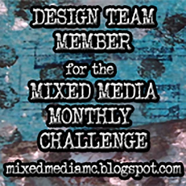 Mixed Media Monthly Challenge Design Team