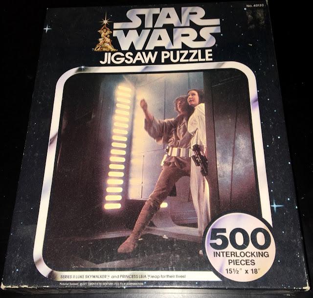 Vintage Series 3 Topps Star Wars Card Trader Lando Fights Jabba's Henchman