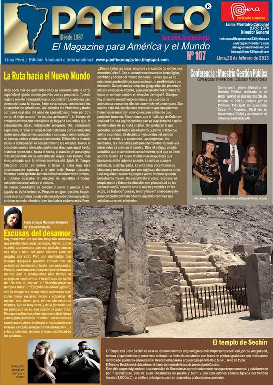 Revista Pacífico Nº 107 Arqueología