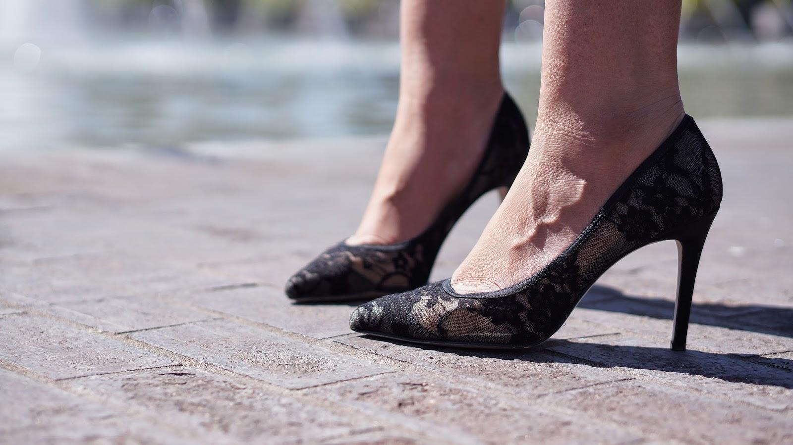 Shoemint Lace heels