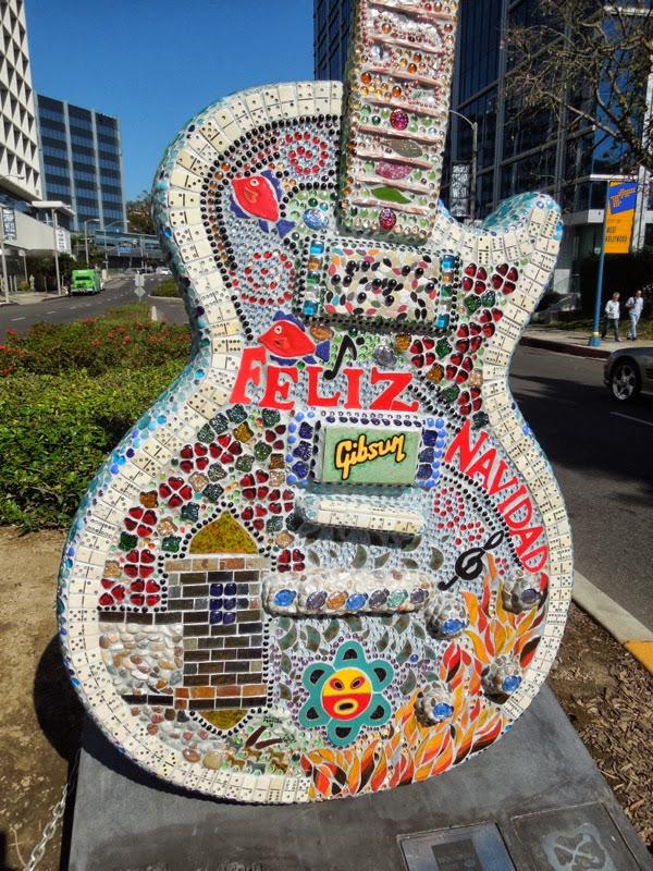 José Feliciano homage GuitarTown sculpture Juliana Martinez
