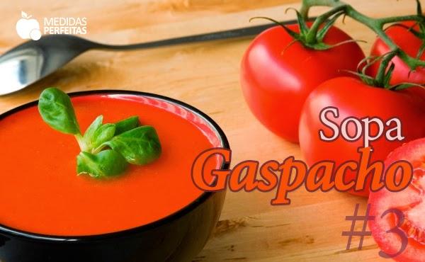 Sopa Gaspacho – Sopas para Emagrecer