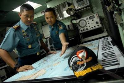 KRI Rencong-622 Uji Coba Gas Turbin Sebelum Laksanakan Patroli Di Wilayah Timur Indonesia