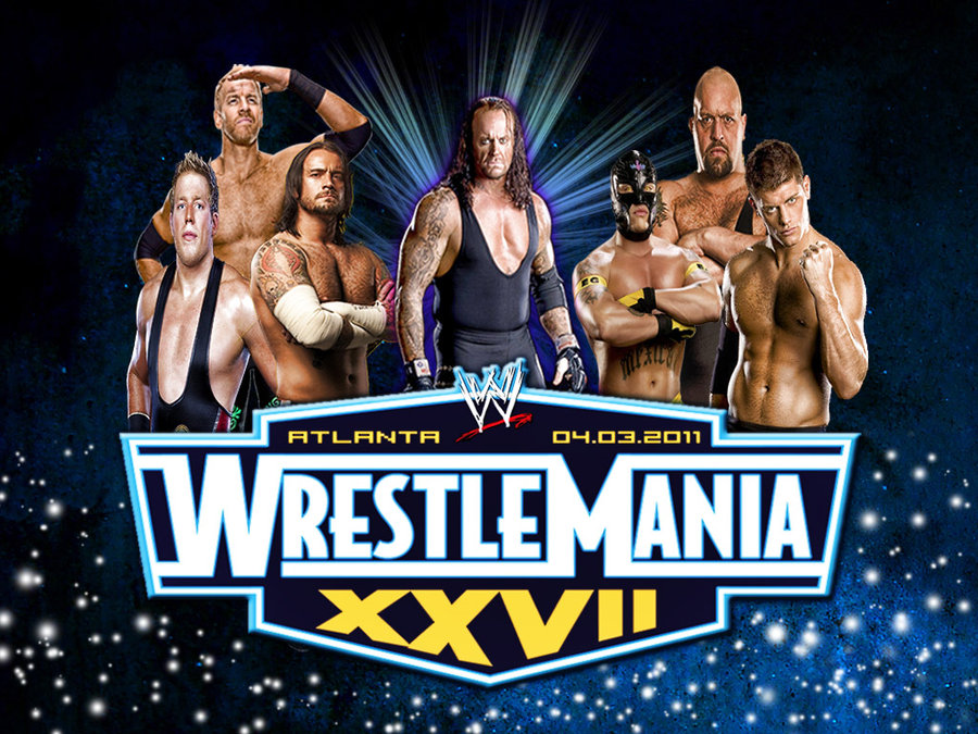 wwe wrestlemania 27 wallpaper. Wrestlemania 27 on 3rd March