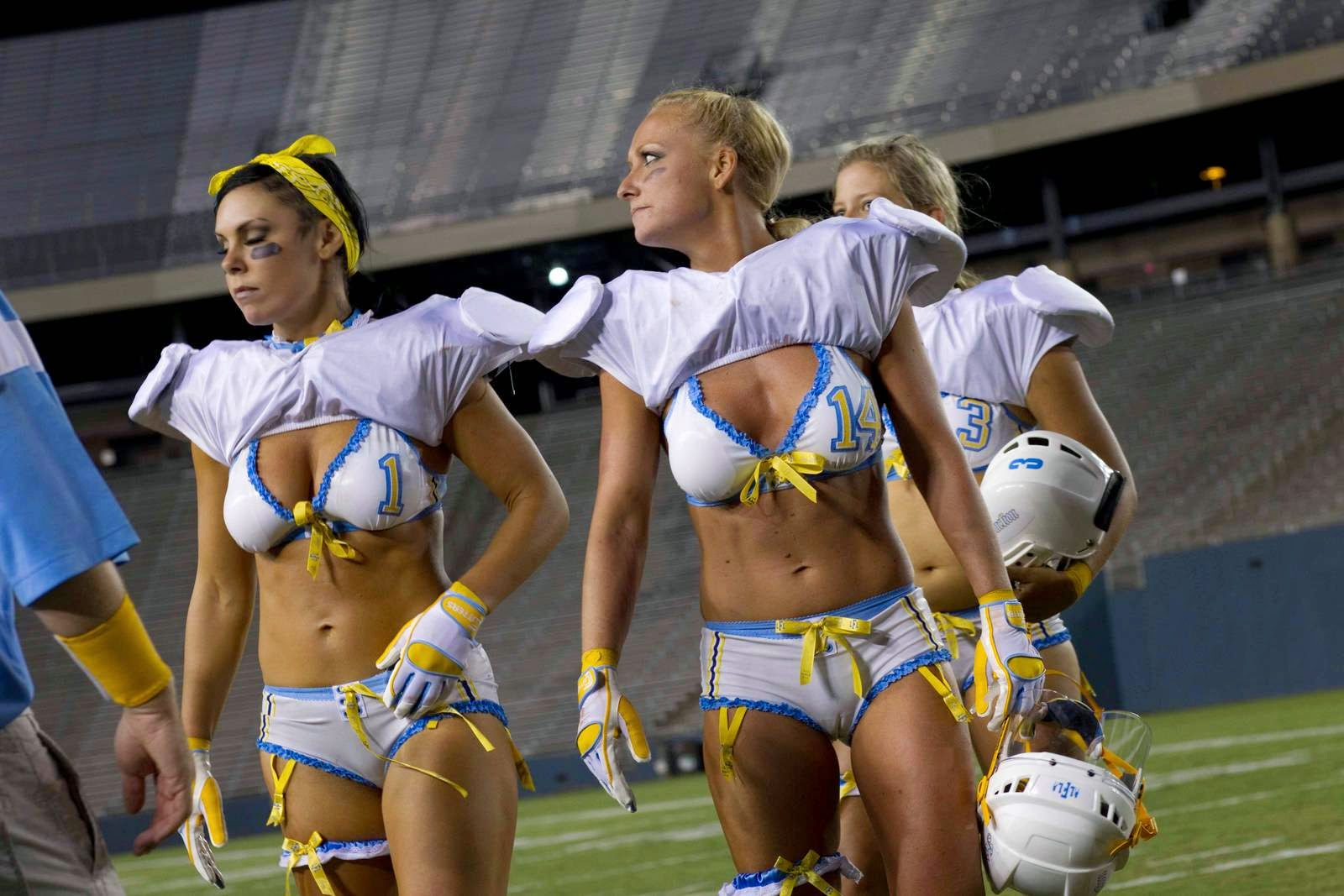 football nude lingerie female