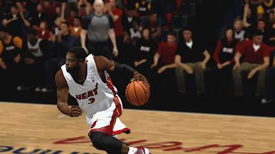 NBA 2K13 Dwayne Wade Cyberface Mod