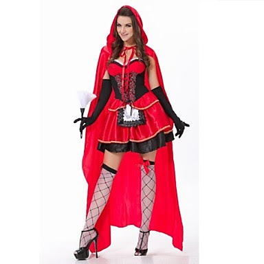 Jual Kostum Halloween Red Riding Hood Online