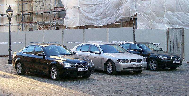 The Pre Facelift 5 Series Left Right In Comparison To E65 BMW 7 Sedan Middle