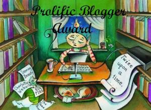 prolific blog award