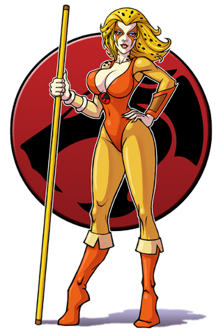 Thundercats Chetara on Thundercats Photos  Cartoon Series Thundercats Cheetara Animated