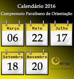 Calendário CPO 2016