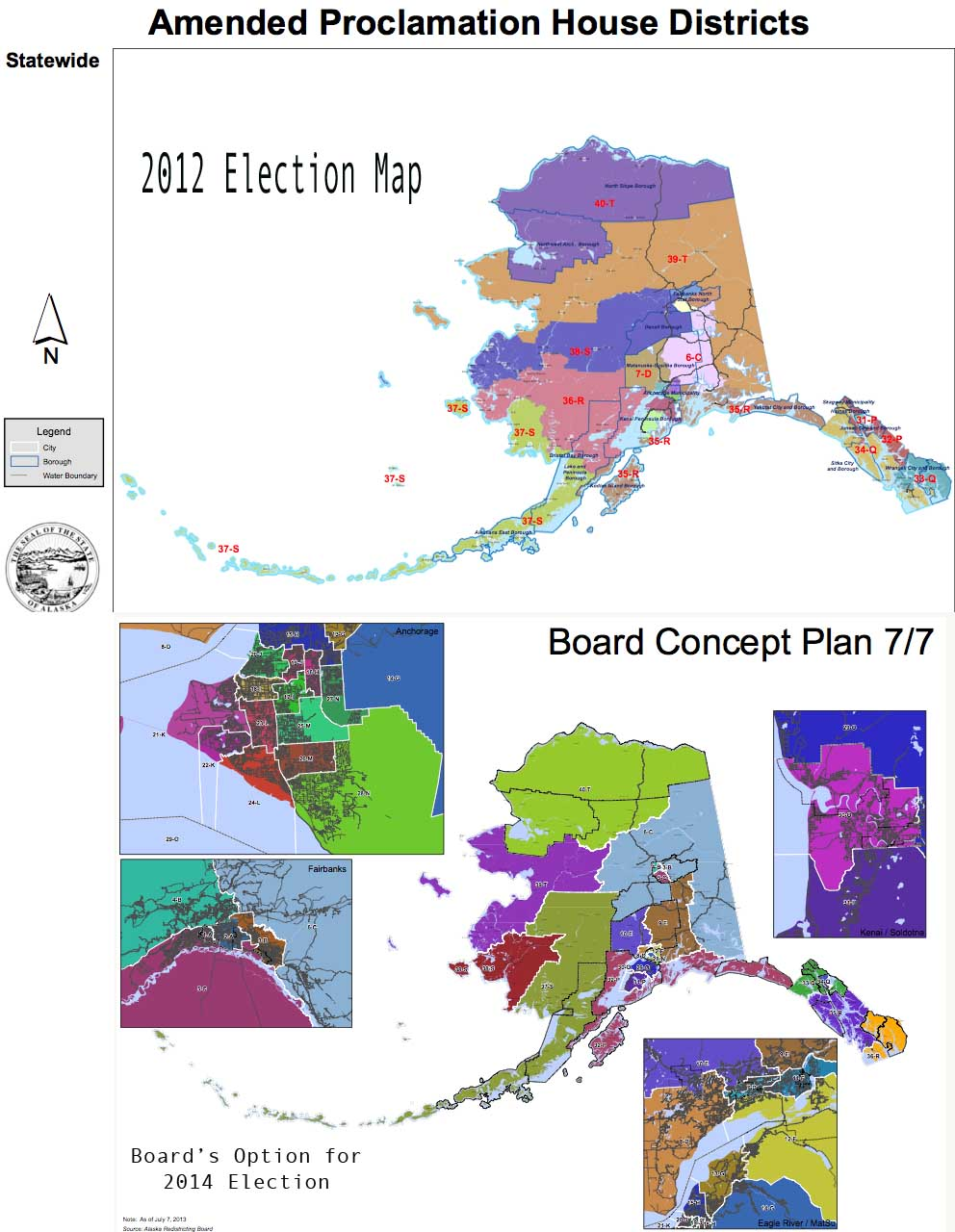 What Do I Know Here39s The Map The Redistricting Board