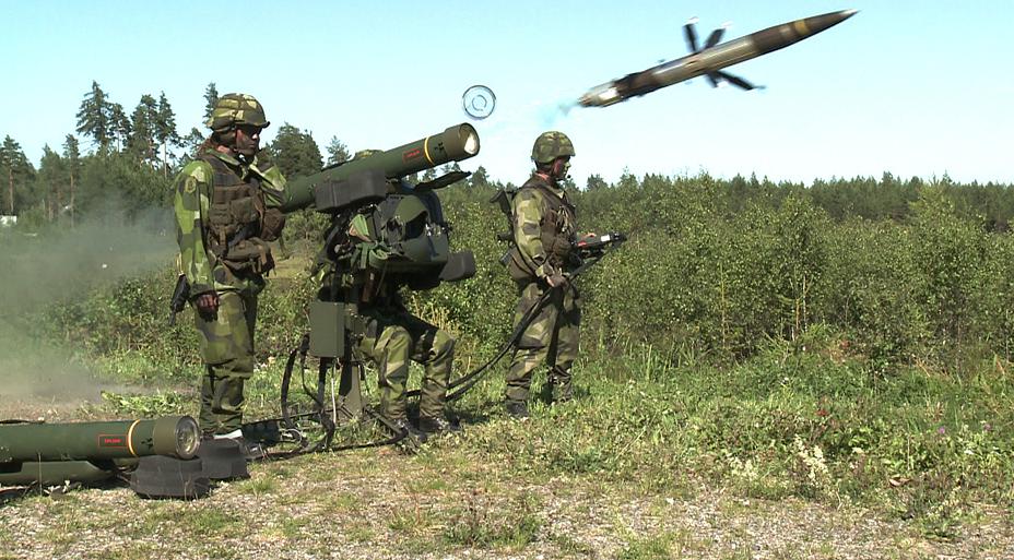 PT PINDAD-SAAB kerja sama Sistem Pertahanan Udara