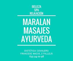 MASAJES AYURVEDA EN COVALERO