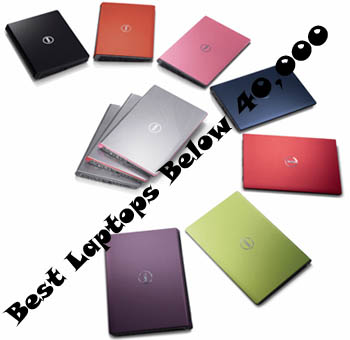 Best laptops between 40,000 and 50,000