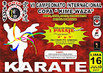 "VI CAMPEONATO INTERNACIONAL DE KARATE ""Copa KIME-WAZA""  Lima-Perù"