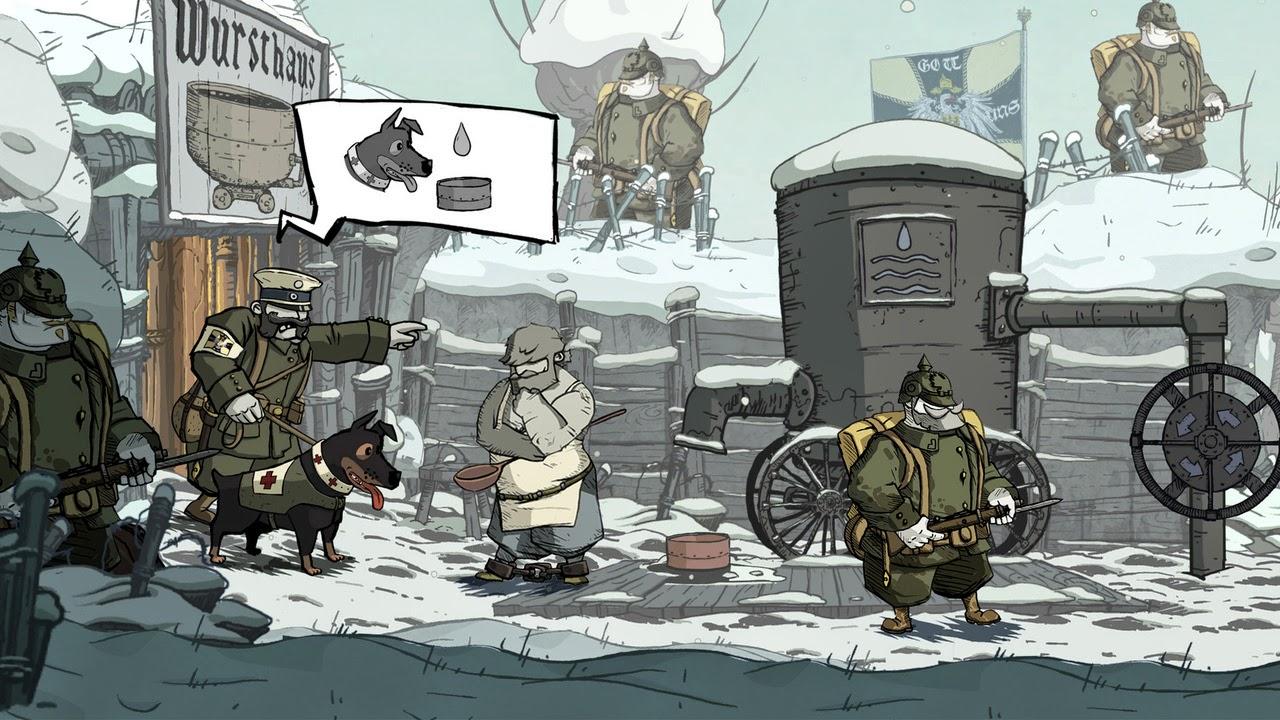 Valiant Hearts The Great War screenshots