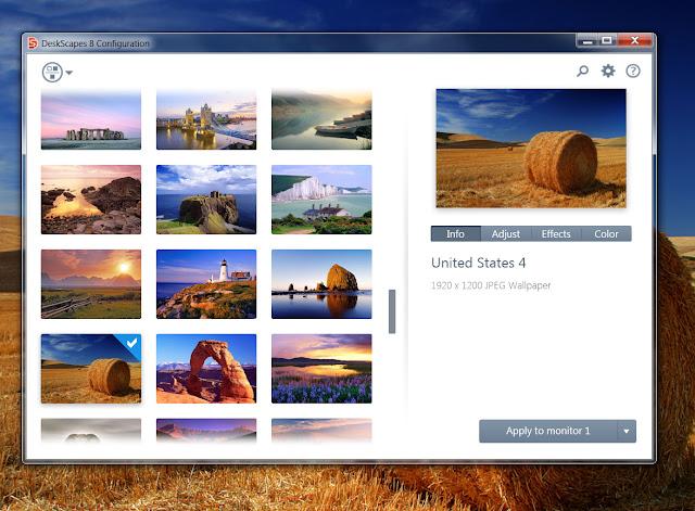 6 Jun 2013 DeskScapes Adds Live Wallpaper & DreamScene Features To Wind